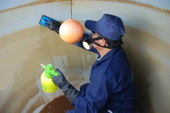 أهمية تنظيف خزانات المياه