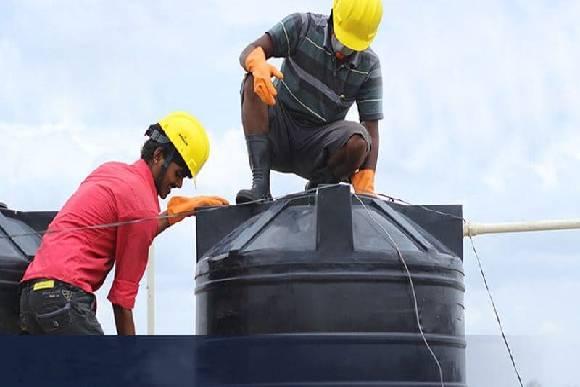 أهمية عزل خزانات المياه