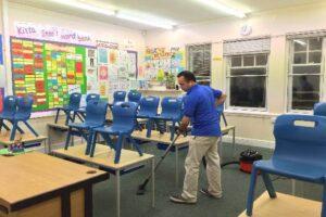 خطوات مؤسسة تنظيف مدارس بالرياض في التنظيف