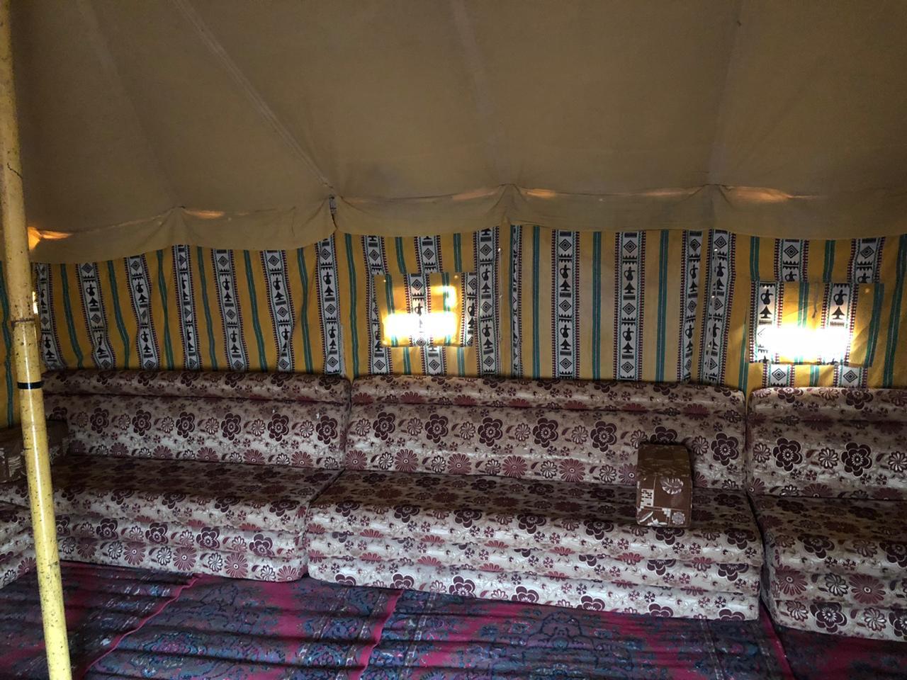 مخيم رحال من الداخل