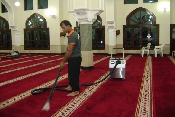 شركة تنظيف مساجد مع التعطير والتعقيم بالخرج