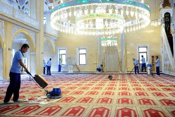 شركة تنظيف مساجد مع التعطير والتعقيم بالرياض